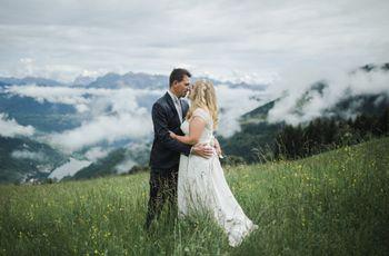 7 idee per un matrimonio in montagna