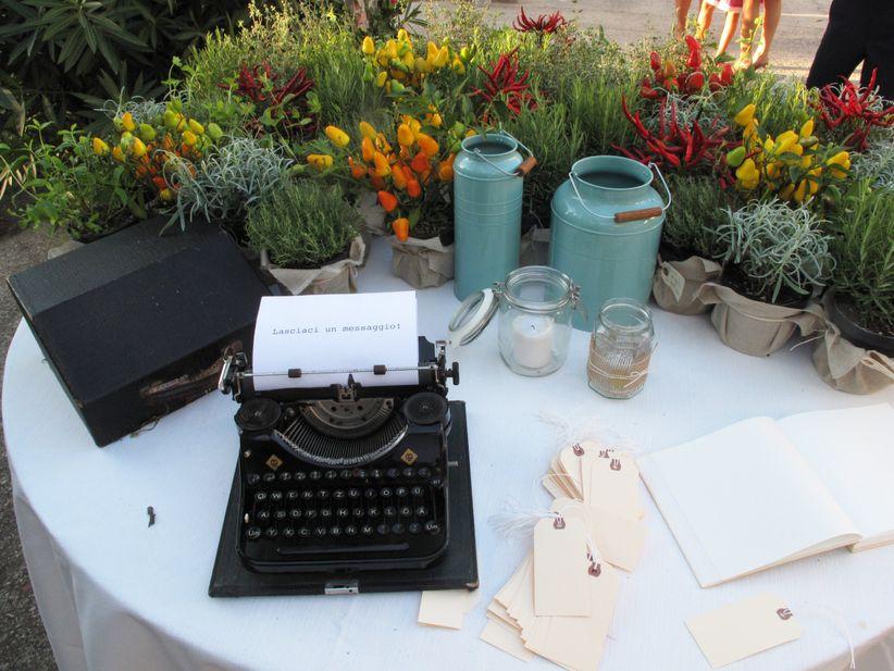abbastanza 10 idee per il tavolo delle firme: sorprendete i vostri invitati! WH76