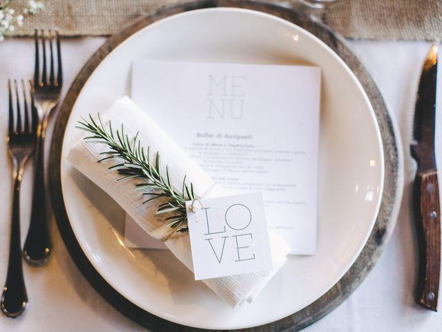51 idee per la presentazione del vostro menù di nozze