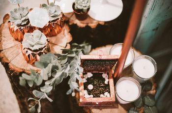 Decorazioni di nozze color rame, la tendenza del momento