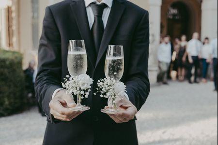 Vino per la wedding cake: idee per una buona scelta