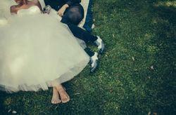 Wedding picnic per un ricevimento sull'erba