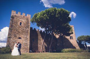 4 ragioni da favola per cui sposarsi in un castello