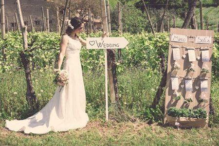 12 idee originali per il tableau de mariage