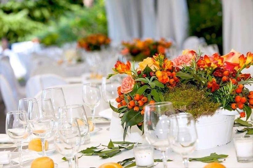 Decorazioni Matrimonio Arancione : Bellissime idee per decorare un matrimonio in autunno