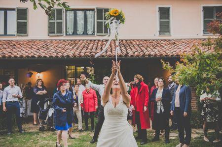 Tutti i segreti sul lancio del bouquet da sposa!