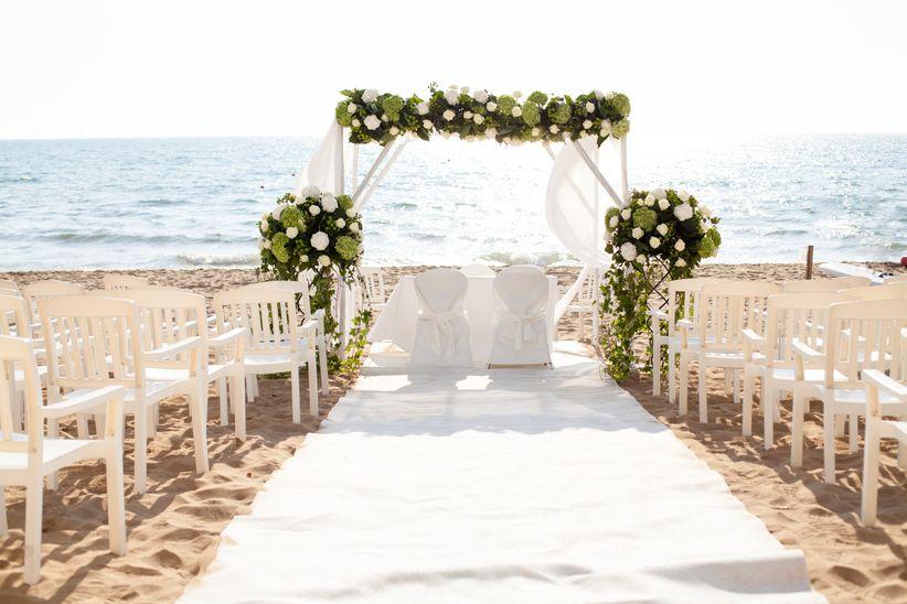 Super 35 idee per le decorazioni del vostro Beach Wedding JD27