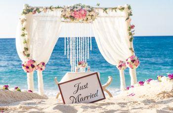 35 idee per le decorazioni del vostro Beach Wedding