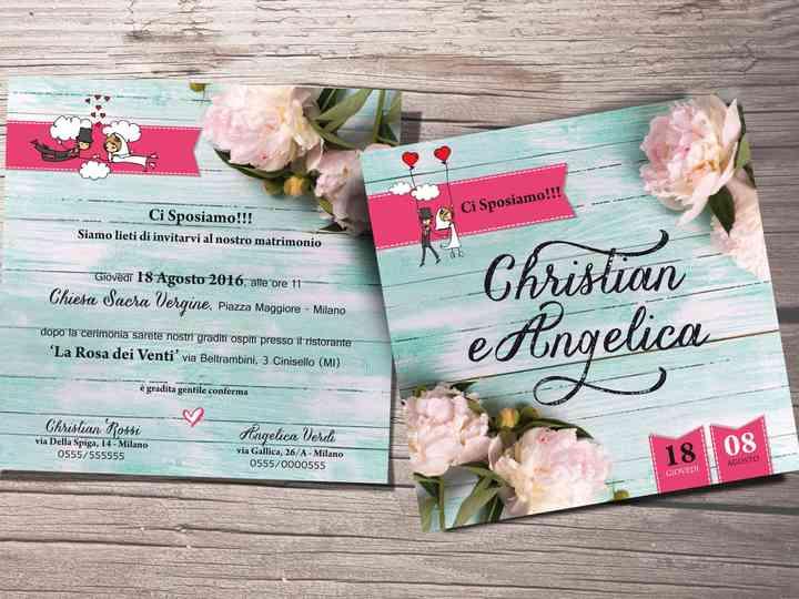 Partecipazioni Matrimonio Modelli Particolari.Partecipazioni Di Nozze 2017 I 40 Design Piu Belli E Originali