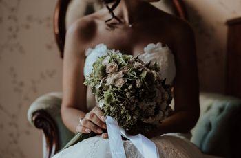 A casa della sposa: 70 foto dei preparativi il giorno delle nozze