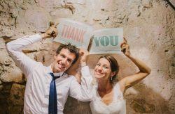 4 idee per ringraziare gli invitati al matrimonio