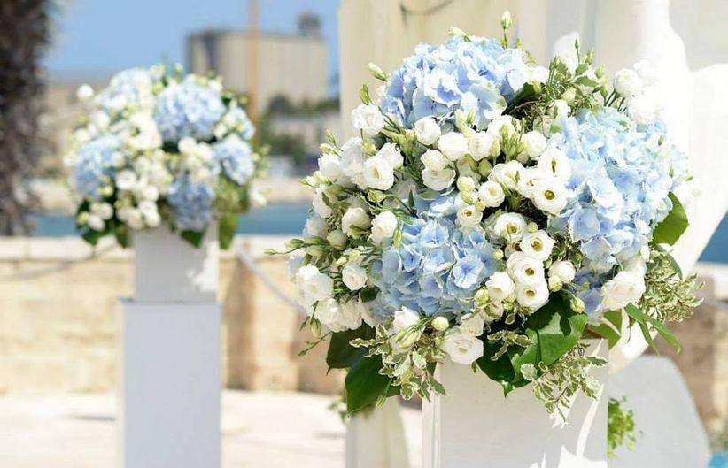 Ortensie Matrimonio Costo : Decorazioni floreali color pastello la scelta soft per le