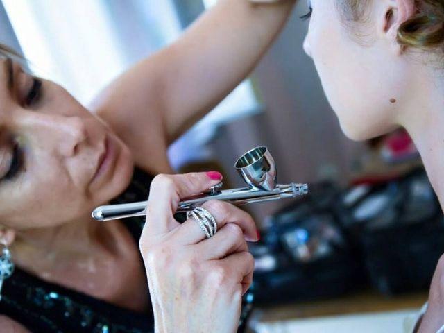 Che cos'è il make up con aerografo e perché dovreste usarlo al vostro matrimonio