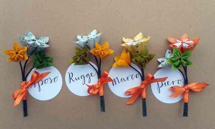 Bomboniere Matrimonio Origami.35 Idee Per Decorare Le Vostre Nozze Con Gli Origami