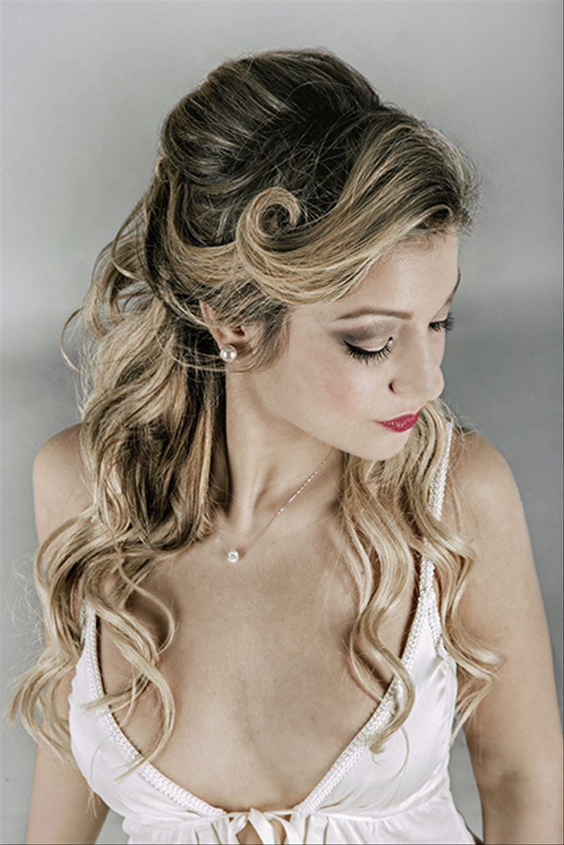 Acconciature cerimonia capelli media lunghezza