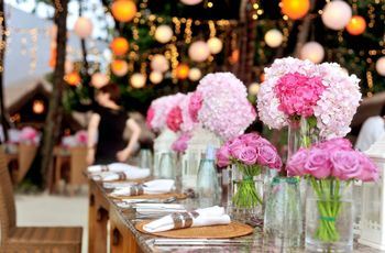 Decorazioni floreali color pastello: la scelta soft per le nozze primaverili