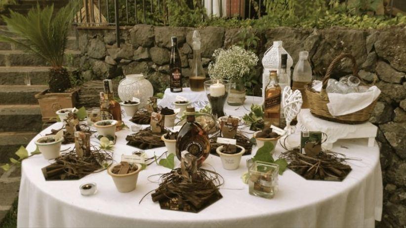 Tavolo Matrimonio Country Chic : Idee per un matrimonio a tema cioccolato che vi faranno