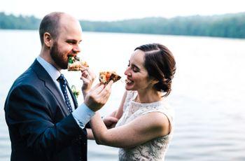 A nozze con la Regina d'Italia: un menù a base di pizza