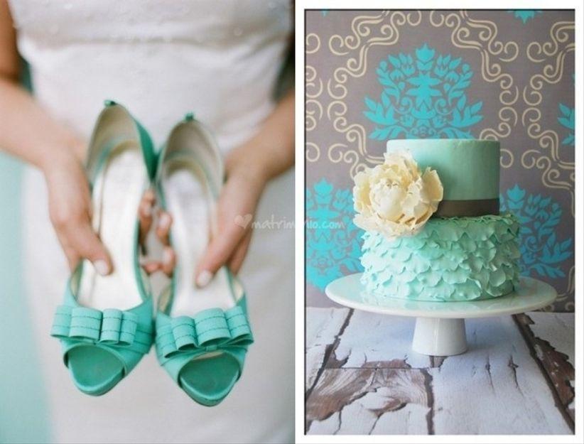 Matrimonio In Verde Tiffany : Decorazioni matrimonio verde tiffany una raccolta di