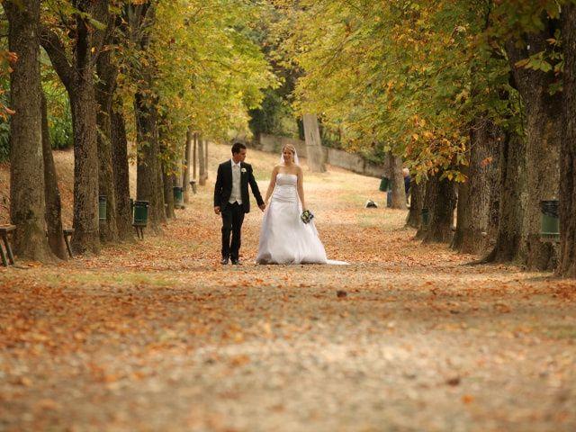 Colori per la decorazione delle nozze autunno 2014