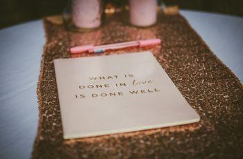 Le 10 migliori idee per tematizzare il vostro guestbook