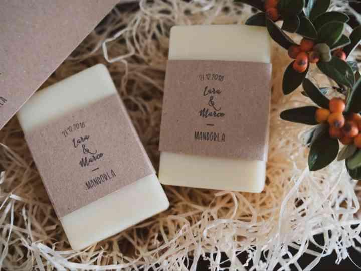 Regali di nozze per gli invitati: omaggiateli con un sapone artigianale!