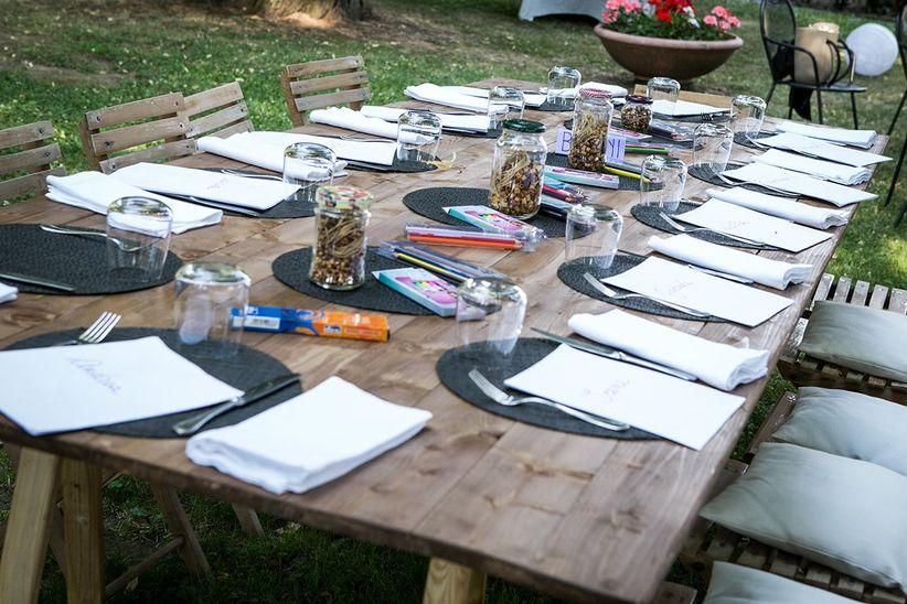 Il tavolo dei bambini 10 proposte per i vostri piccoli ospiti - Tavoli addobbati per diciottesimi ...