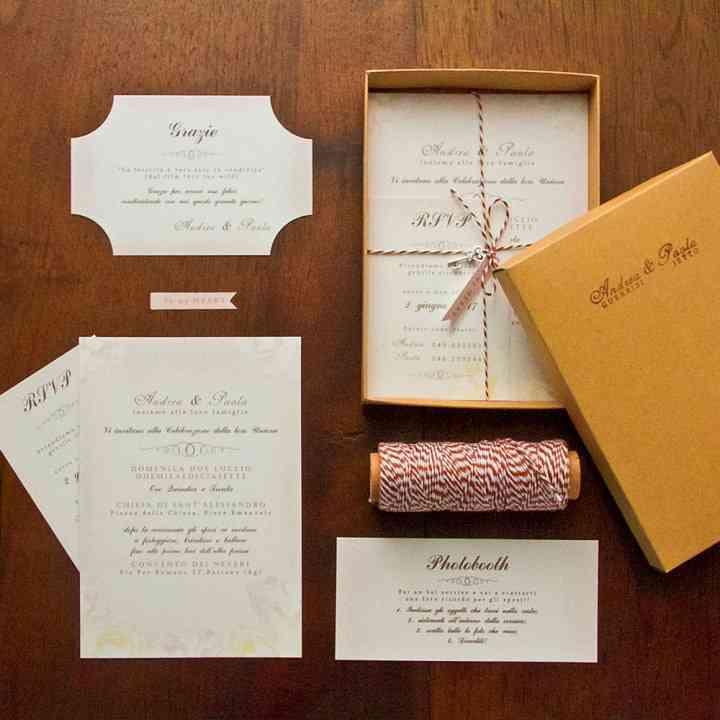 Partecipazioni per Matrimonio