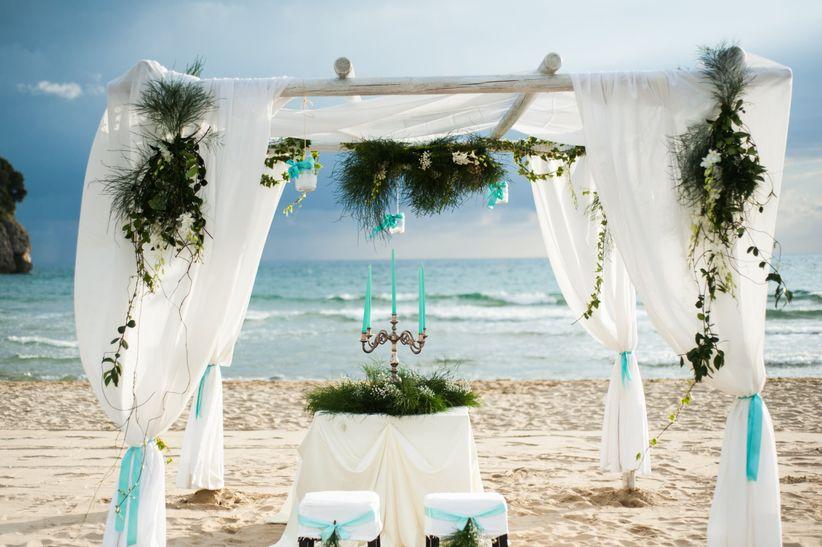 Matrimonio Civile In Spiaggia Sardegna : Idee per le decorazioni del vostro beach wedding