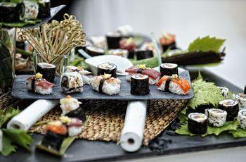 Ricevimento di nozze e servizi extra: dite Sì a un corner di sushi!