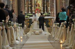 La scaletta della cerimonia religiosa