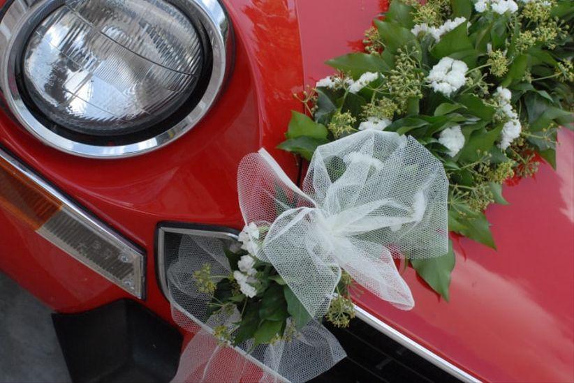 Populaire Decorazioni floreali per l'auto degli sposi UV87