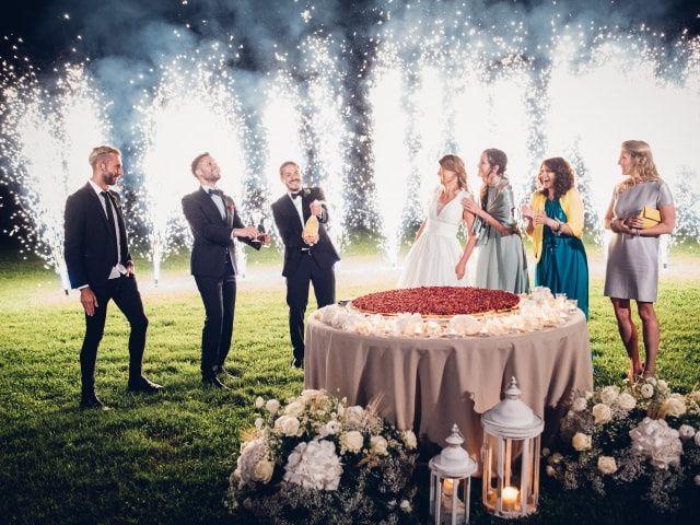 Spettacoli di luce per le nozze, tra sogno e realtà