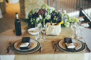 50 idee per la decorazione del tavolo degli sposi