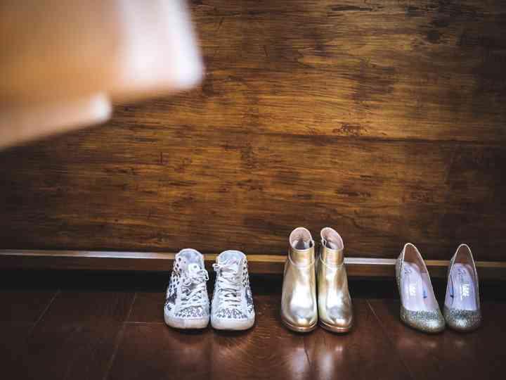Scarpe da sposa: porta con te un paio di riserva! Ecco tutte