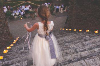 Consigli per far partecipare i bambini alla cerimonia