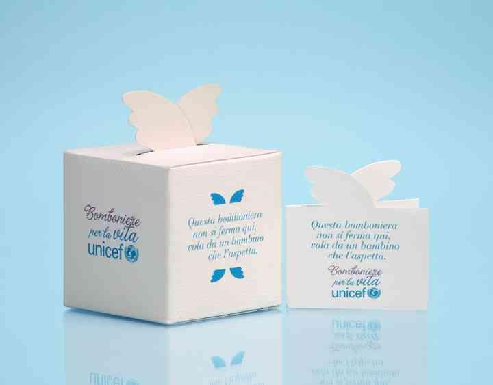 Partecipazioni Matrimonio Unicef.Bomboniere Unicef Una Scelta Per La Vita