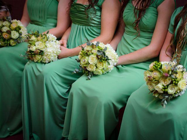 Partecipazioni Matrimonio Azzurro : Partecipazioni tema rondini colore azzurro verde fai da