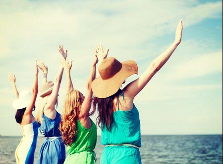 5 idee per festeggiare l'addio al nubilato in spiaggia