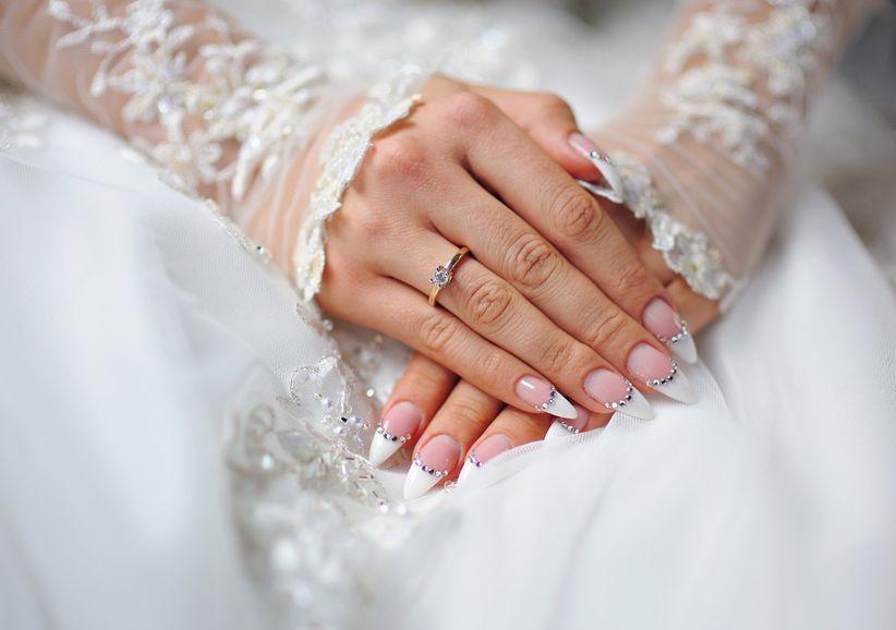 Préférence 5 idee di tendenza per la manicure da sposa questo 2017 GA23