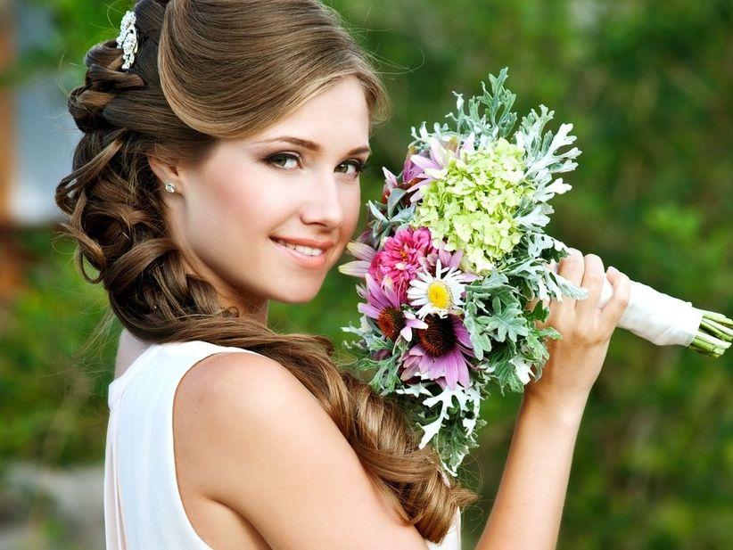 Acconciatura da sposa per i diversi tipi di viso - Diversi tipi di trecce ...