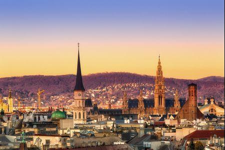 Luna di miele a Vienna per una moderna favola d'amore