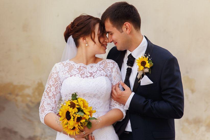 Guestbook Matrimonio Girasoli : Matrimonio con girasoli