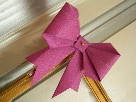 Fiocchi fai da te con origami: il tutorial