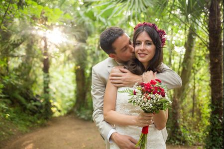 Paula e Carlos: matrimonio color marsala!