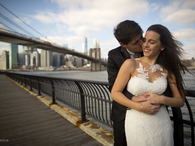 L'incantevole New York come cornice del reportage di nozze