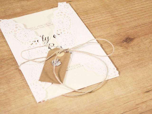 Partecipazioni di nozze fai da te: crea i tuoi originali inviti!
