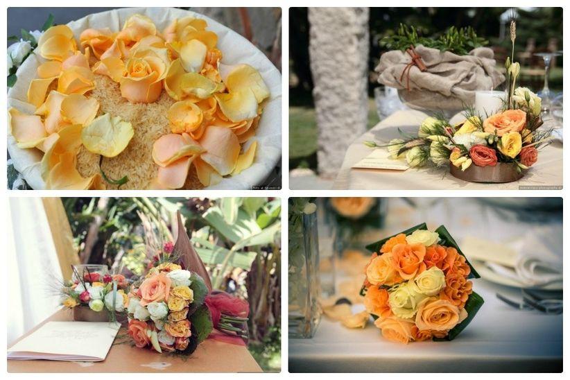 Matrimonio Azzurro E Arancione : Abbinamento colori per tema nozze