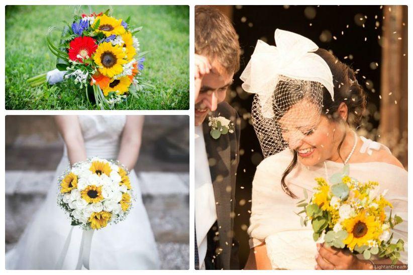 Guestbook Matrimonio Girasoli : Come decorare le tue nozze con i girasoli