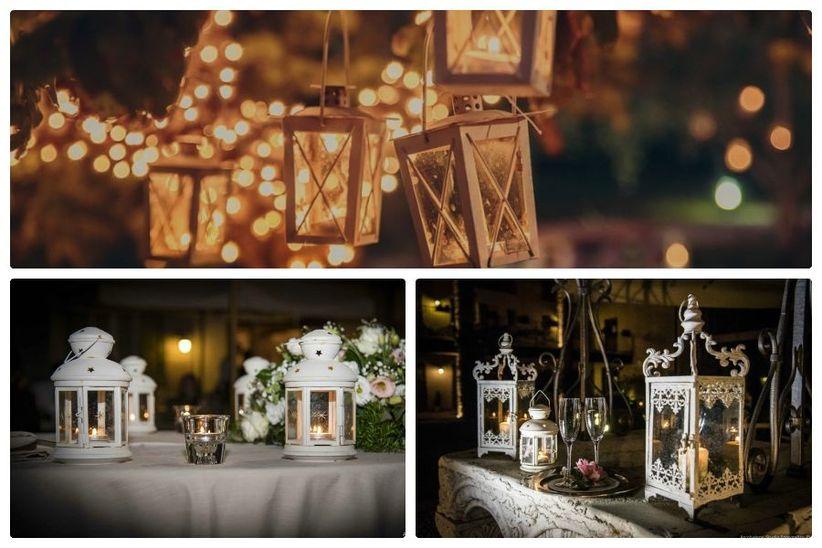 Tema Matrimonio Candele E Lanterne : 5 idee per decorare le tue nozze in stile romantico